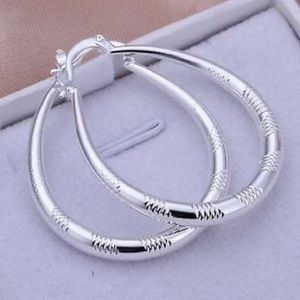 💕gorgeous 925 silver hoop earrings
